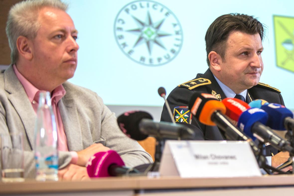Milan Chovanec a Tomáš Tuhý