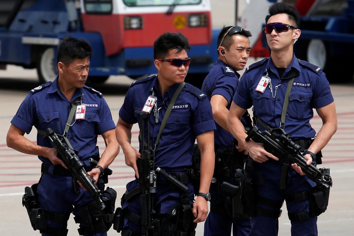 Bezpečnostní opatření v Hongkongu