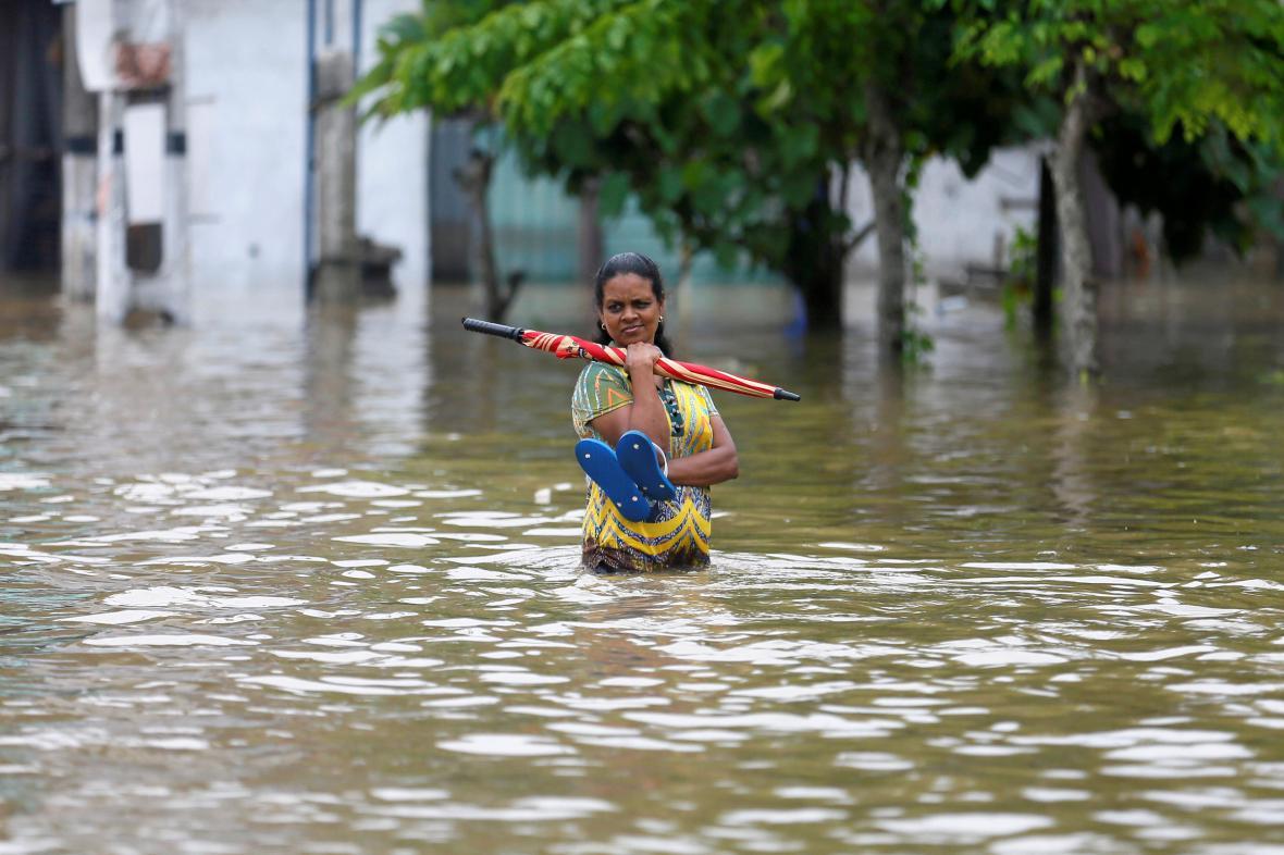 Povodně na Srí Lance