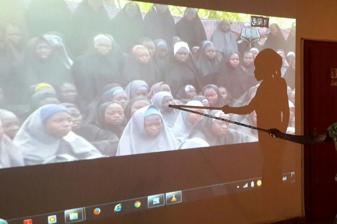 Unesené nigerijské studentky z Chiboku