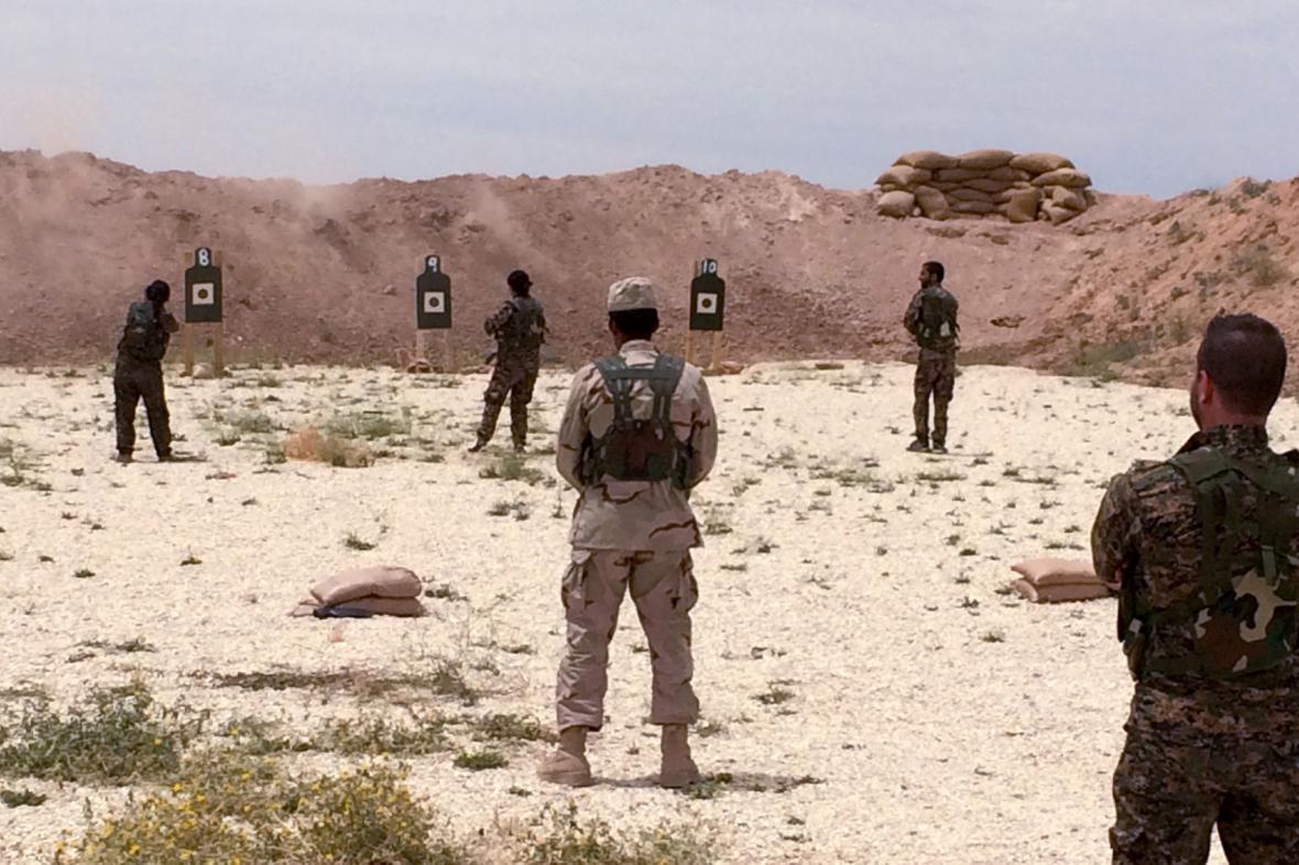 Výcvik v Sýrii