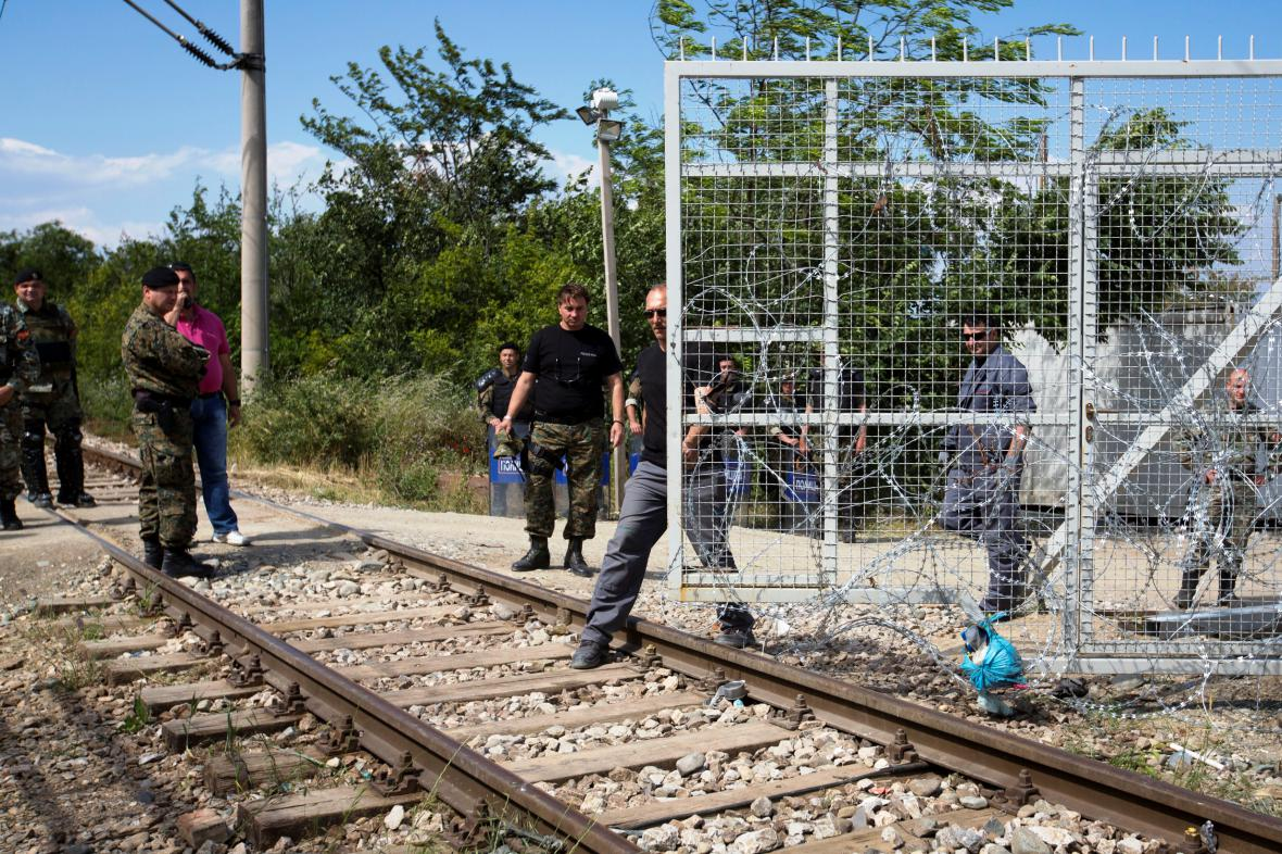 Vyklizení uprchlického tábora Idomeni