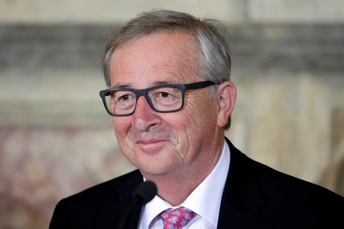 Šéf Evropské komise Jean Claude-Juncker