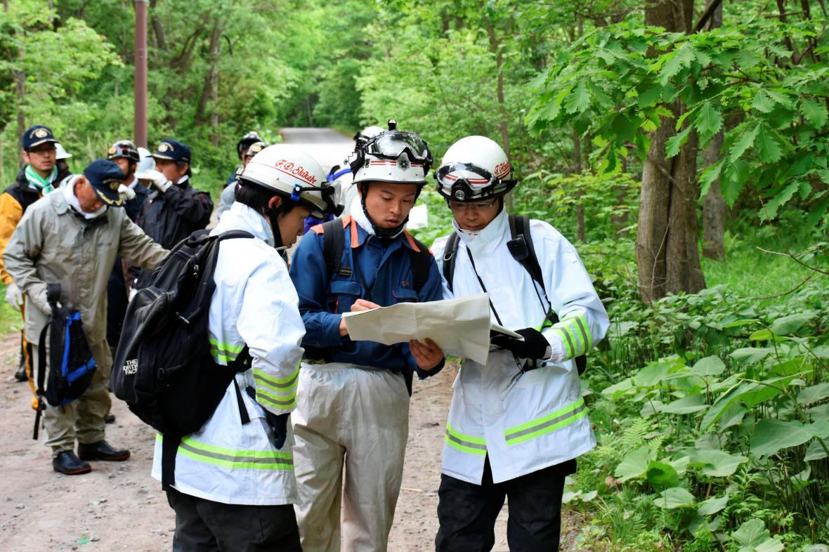 Pátrání po ztraceném chlapci v Japonsku