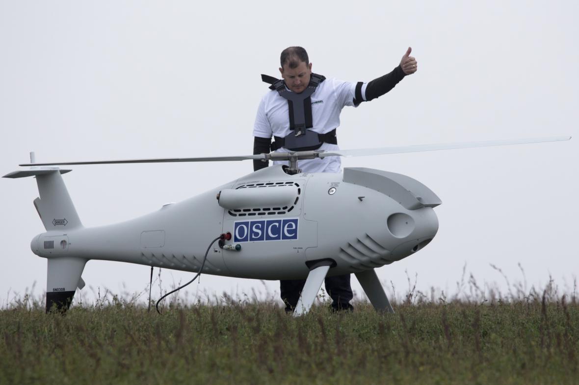 Letoun pozorovatelské mise OBSE
