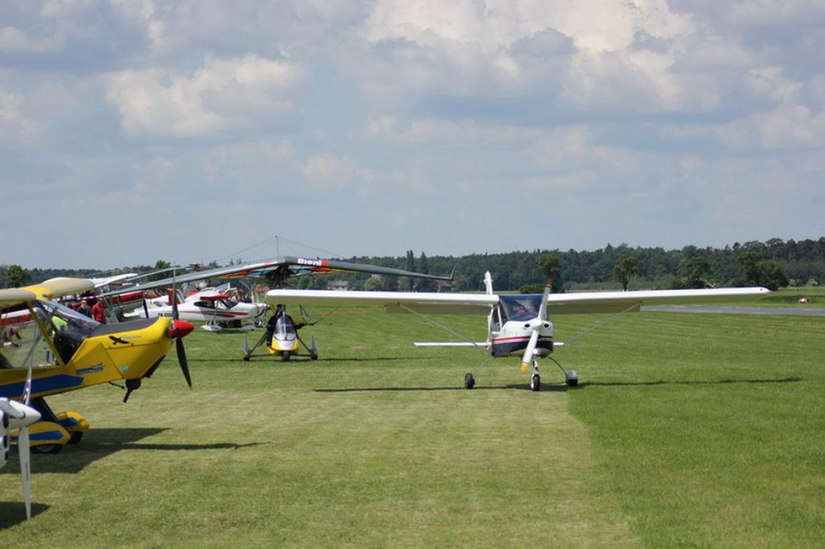 Letiště v Nymburku (Ilustrační foto)
