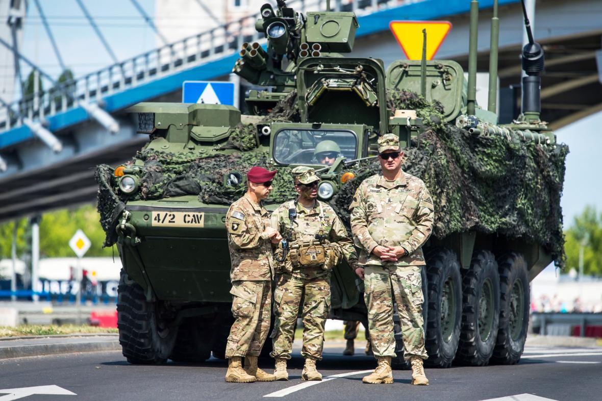 Vojenské cvičení NATO v Polsku