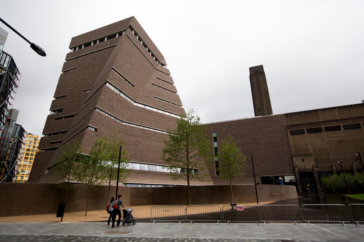 Nová budova Tate Modern