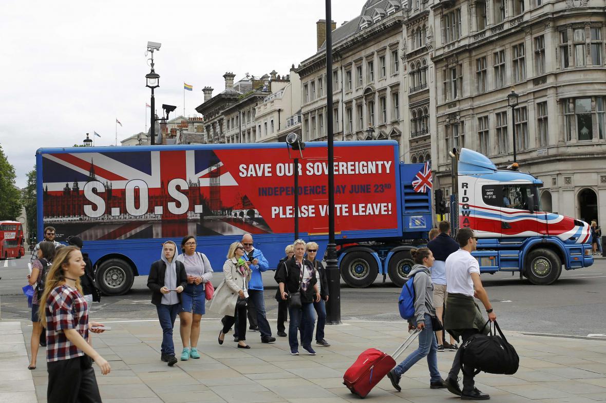 Kampaň stoupenců brexitu