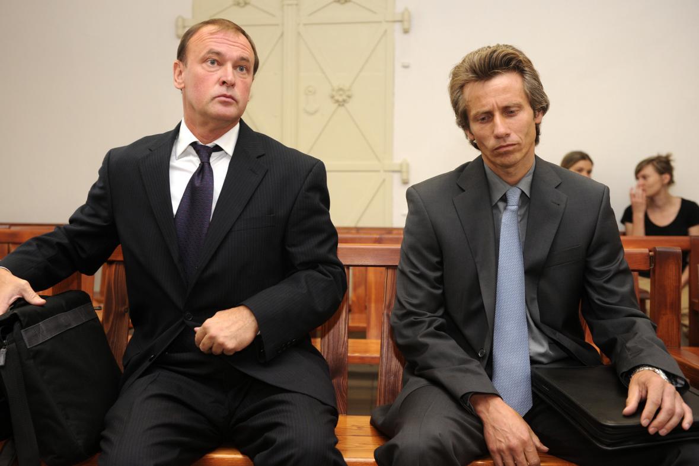 Tomáš Kadlec (vlevo) a Alexandr Houška na snímku z roku 2011.
