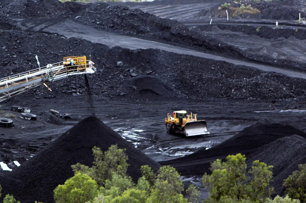 Důl Blair Athol na snímku z roku 2012