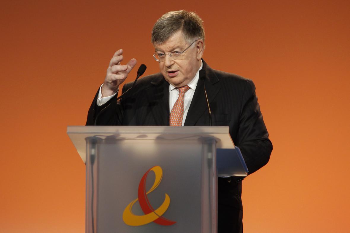 Bývalý šéf France Télécom Didier Lombard na snímku z roku 2010