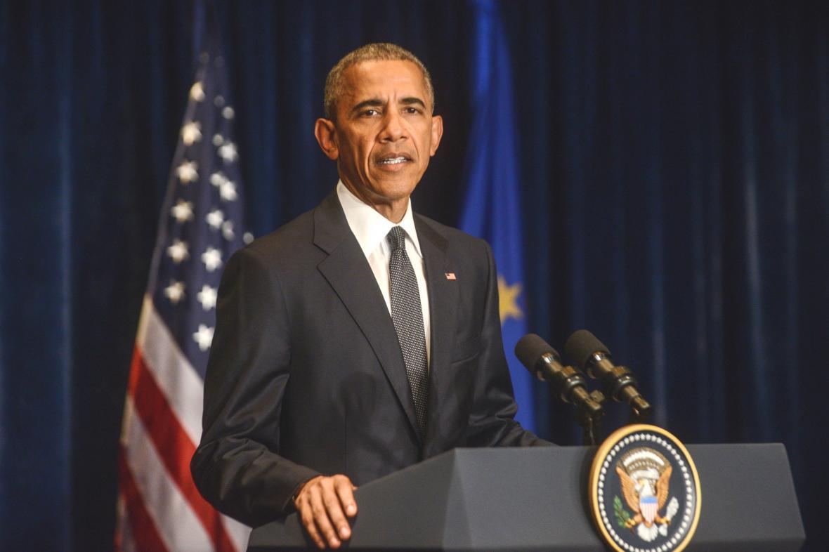 Barack Obama ve Varšavě
