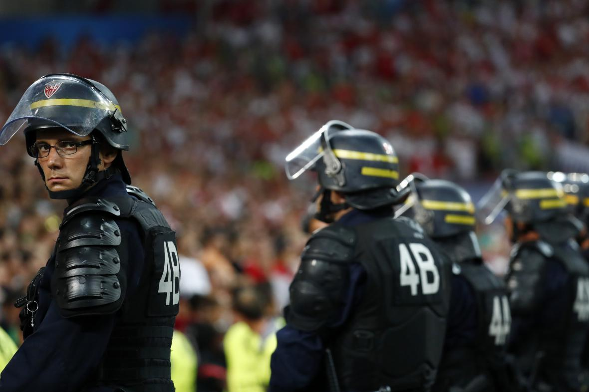 Francouzská policie na Euru