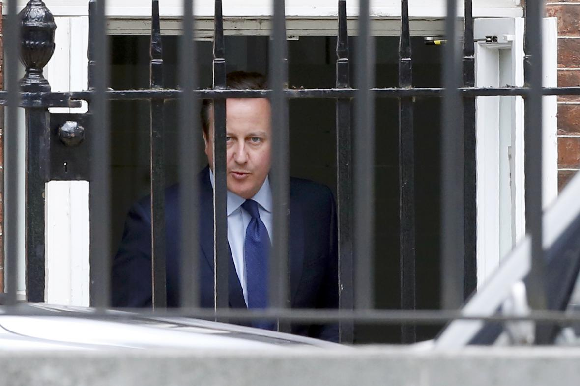 Končící britský premiér David Cameron