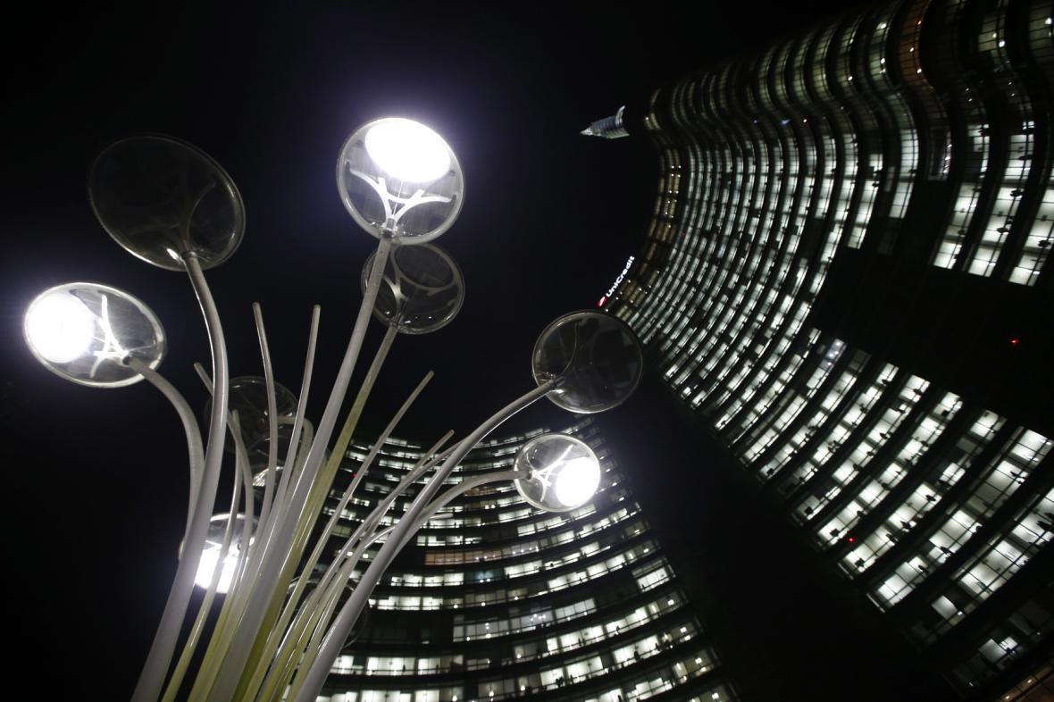 Sídlo UniCreditu v Miláně