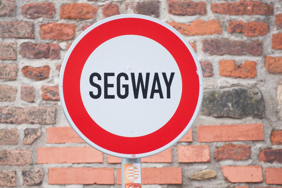 Zákaz vjezdu segwayů