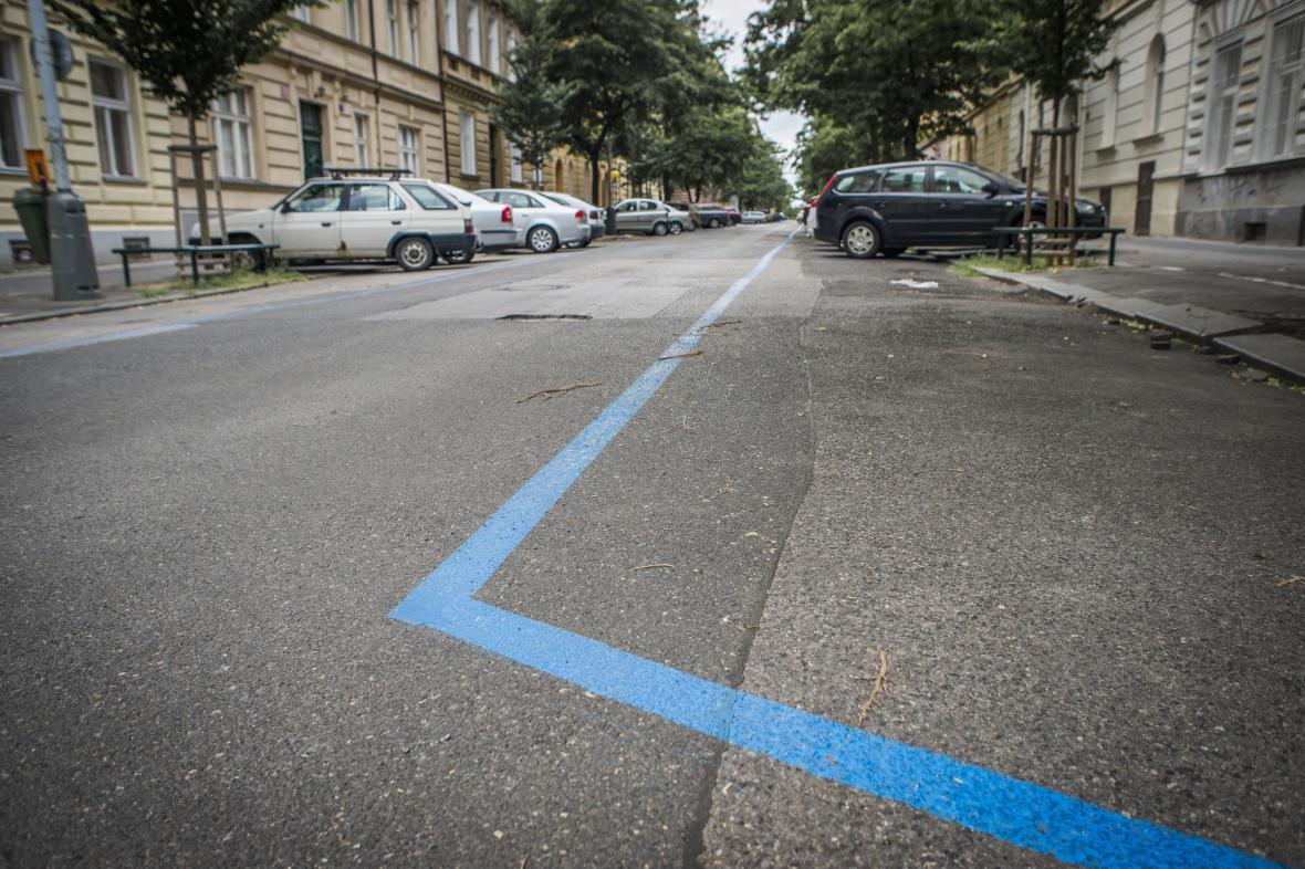 Modrá zóna v Praze