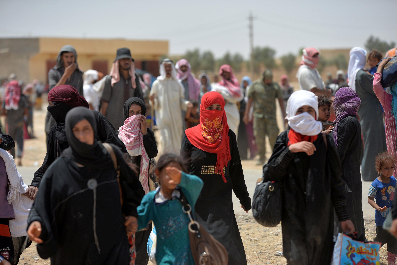 Iráčané prchají před Islámským státem