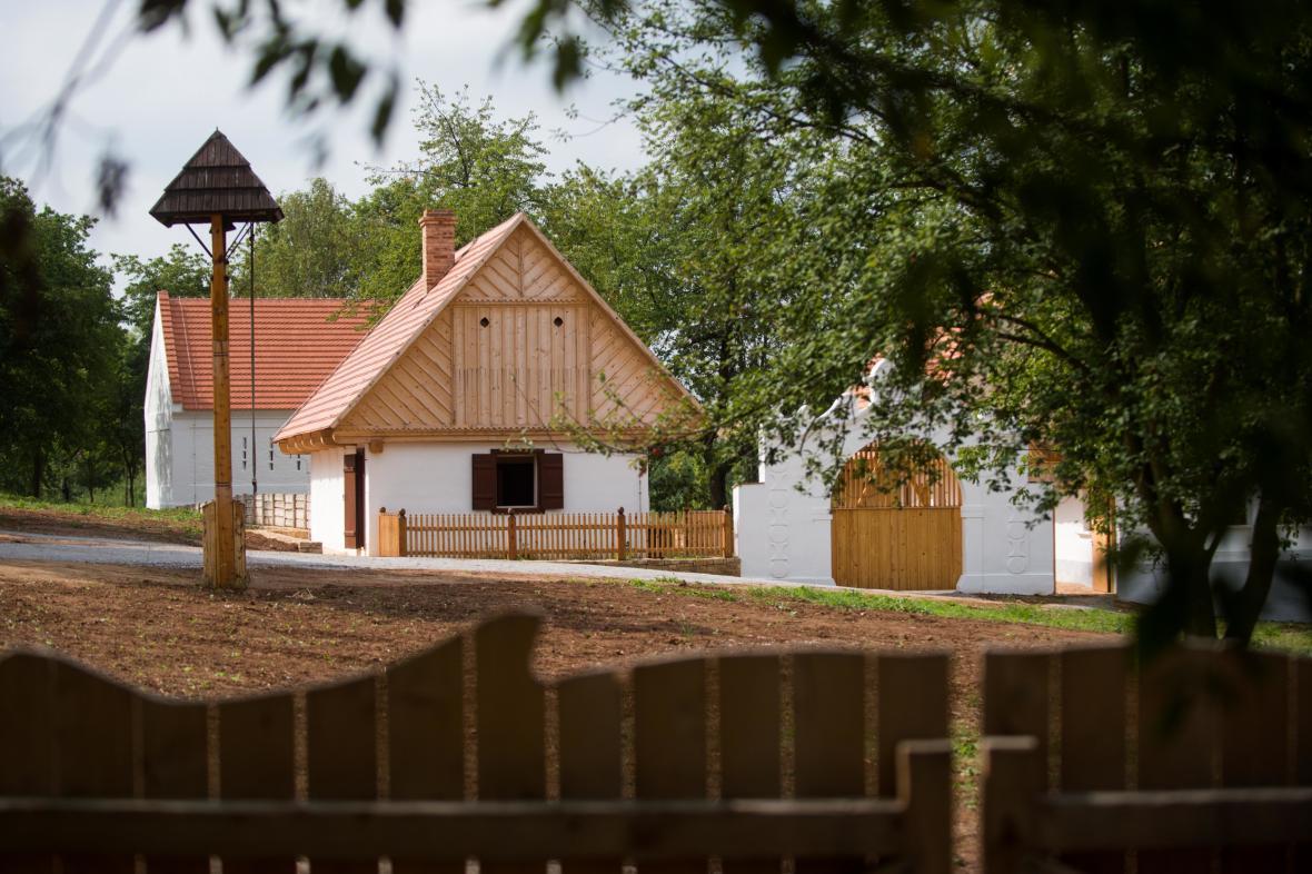 Dům z Krchleb - nová součást skanzenu v Kouřimi
