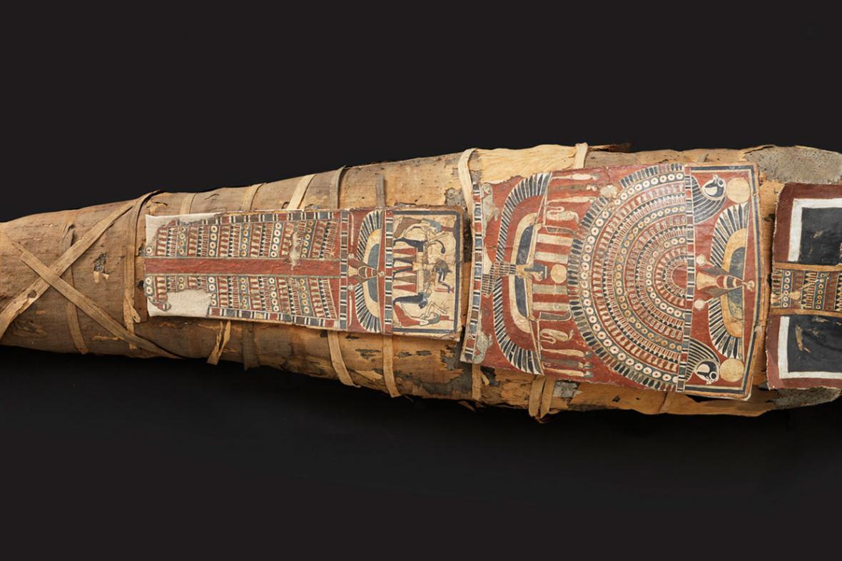 Mumie Alex z Izraelského muzea