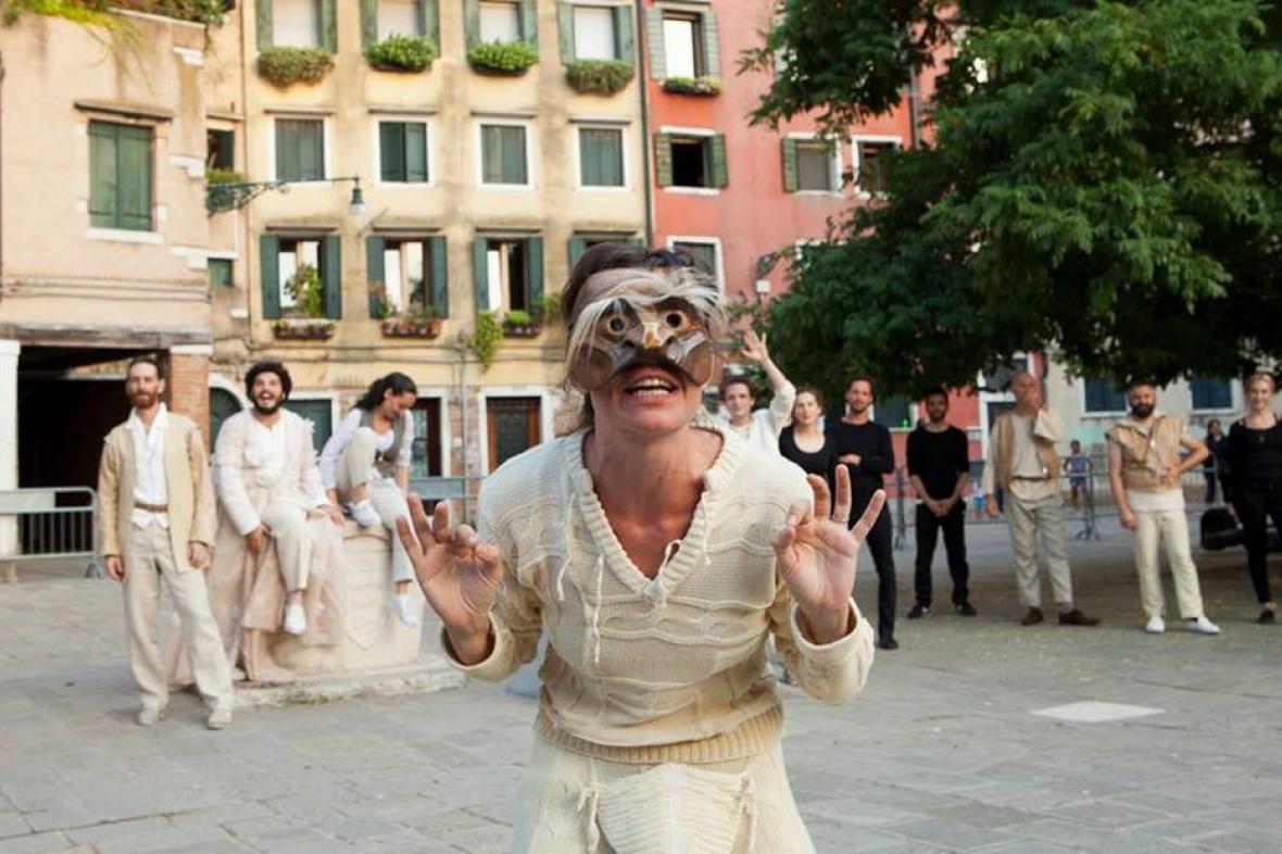 Kupec benátský v benátském ghettu