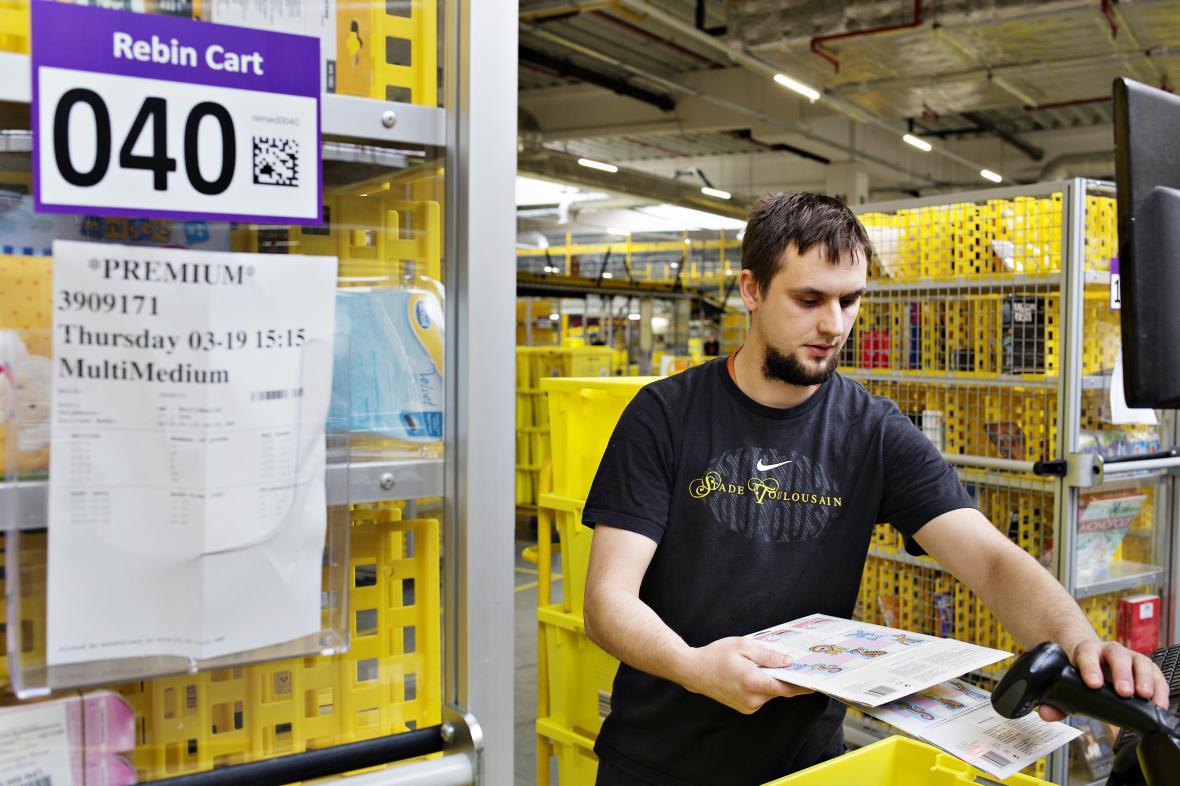 Amazon v polské Vratislavi