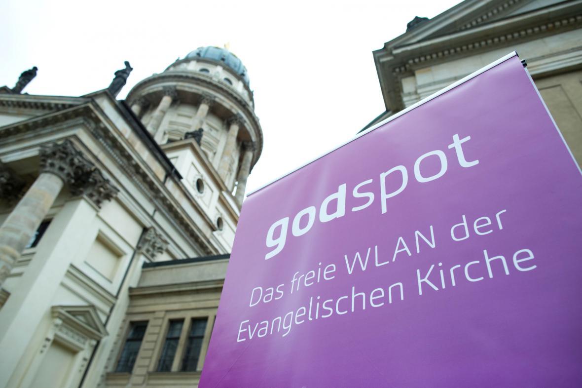 Berlínské kostely nabízejí wi-fi zdarma