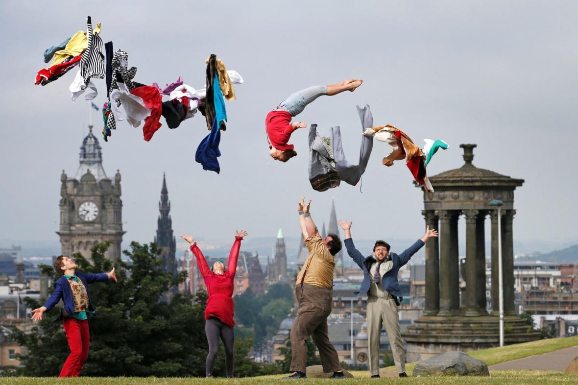 Festival Fringe v Edinburghu