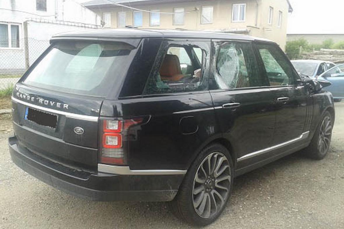 Kradený Range Rover