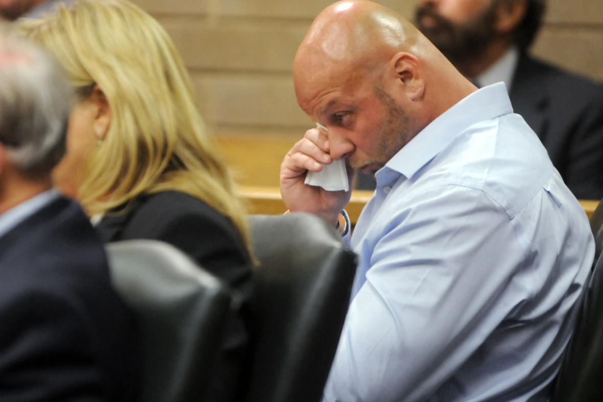 Johnny Small u soudního slyšení