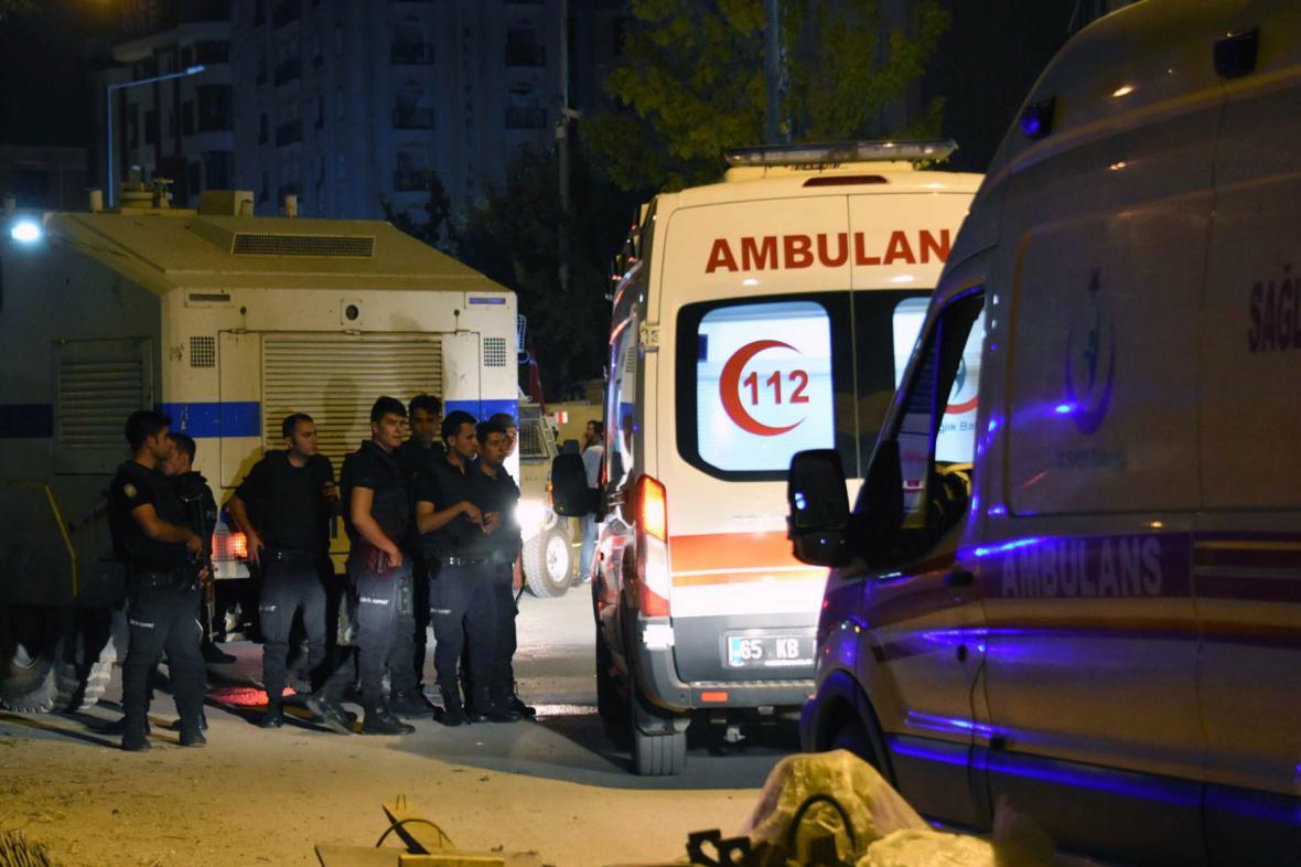 Exploze v turecké provincii Van