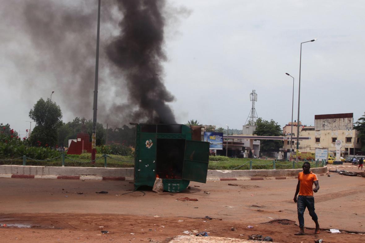Násilnosti v Mali