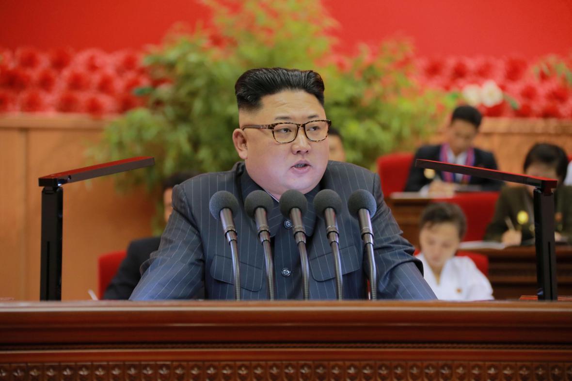 Kim Čong-una