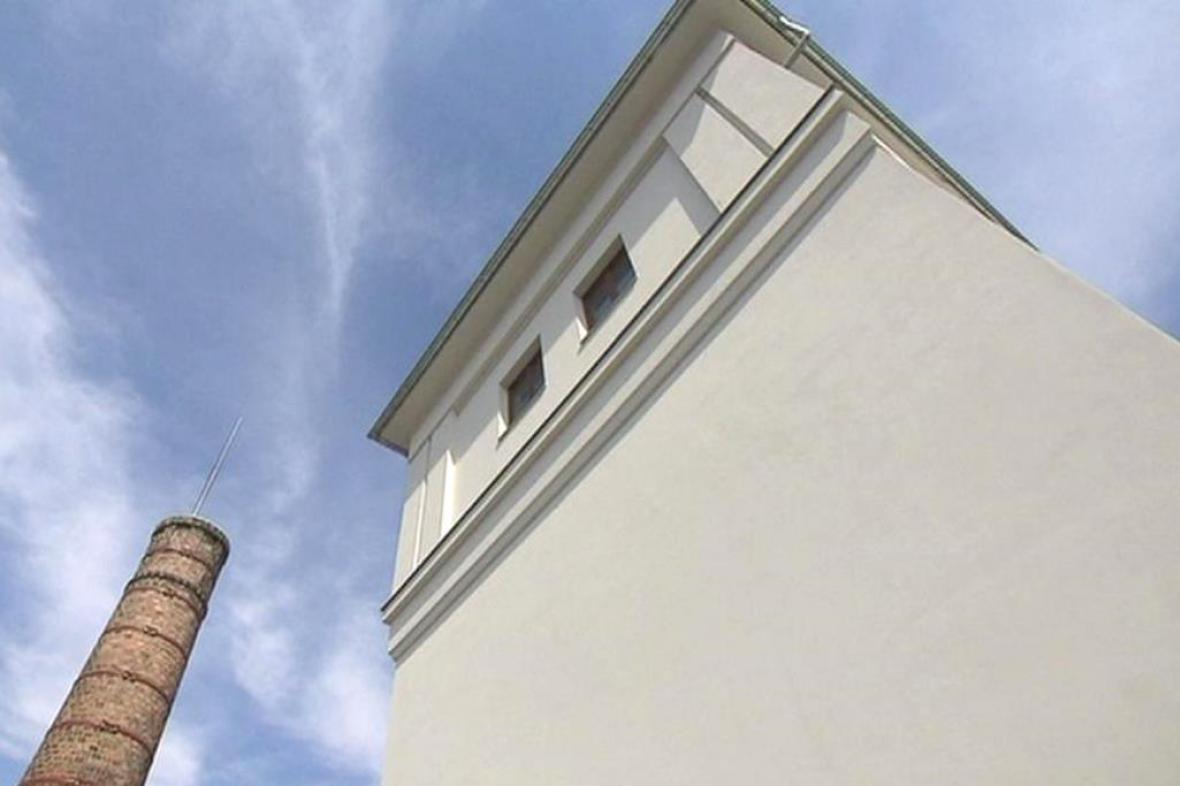 Nádražní vodárenská věž v Opavě