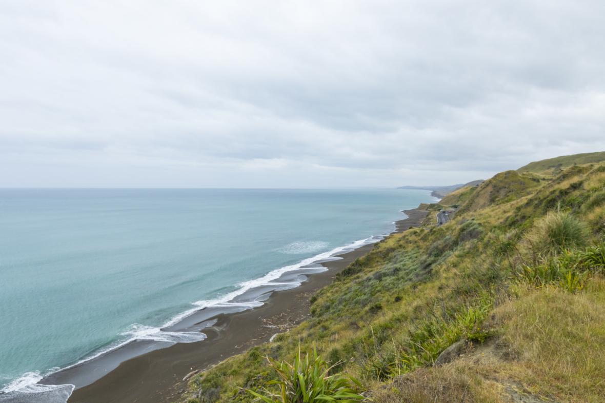 Novozélandské pobřeží