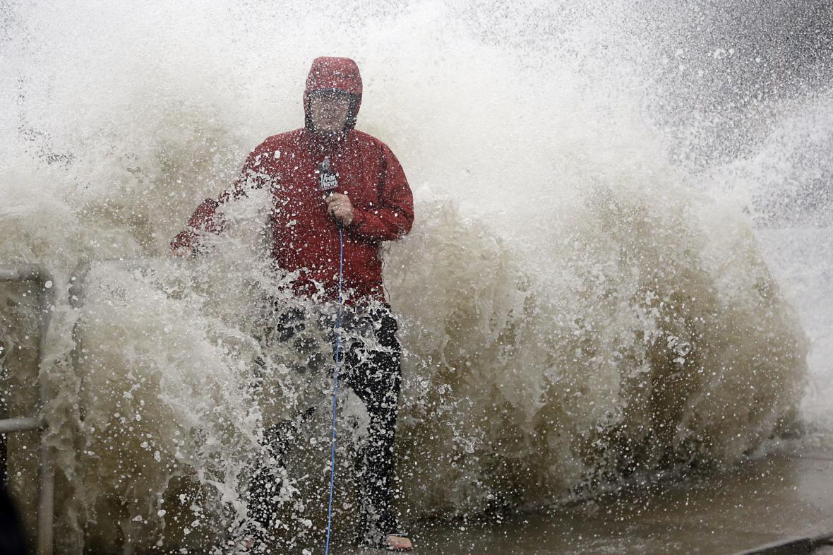 Na Floridu dorazil hurikán Hermine