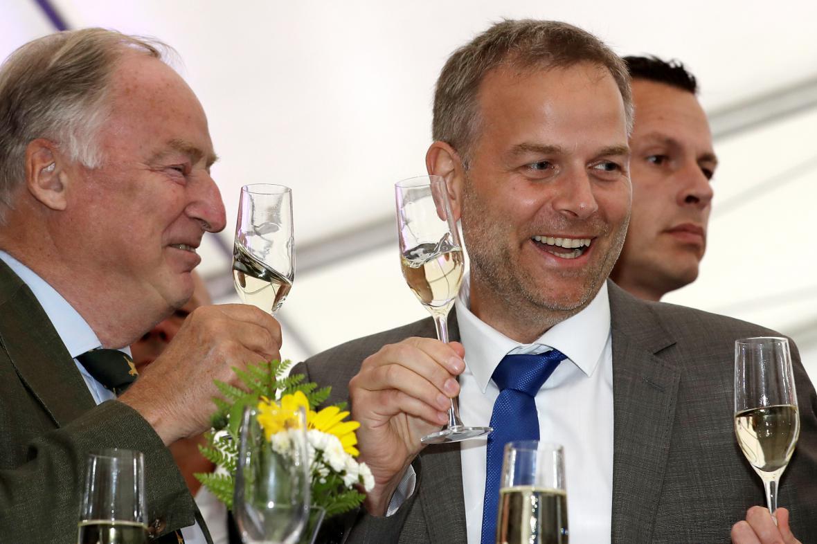 Leif-Erik Holm, lídr Alternativy pro Německo v Meklenbursku-Předním Pomořansku