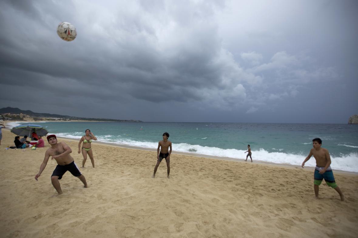 Mexiko očekává hurikán Newton