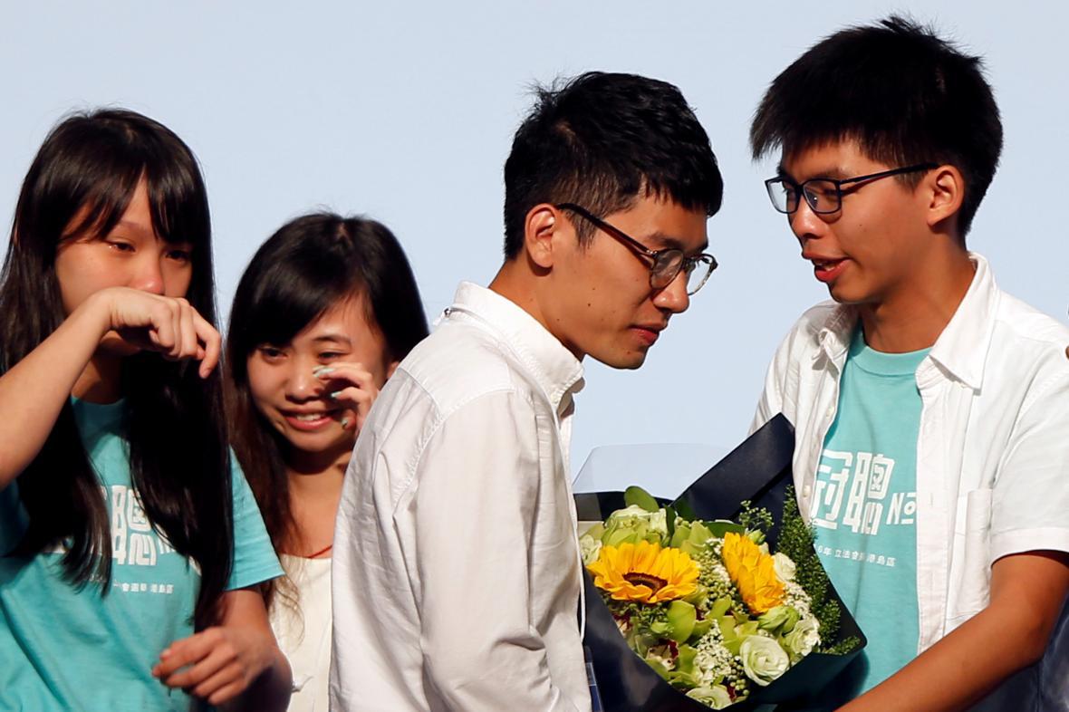 Hongkongští prodemokratičtí aktivisté