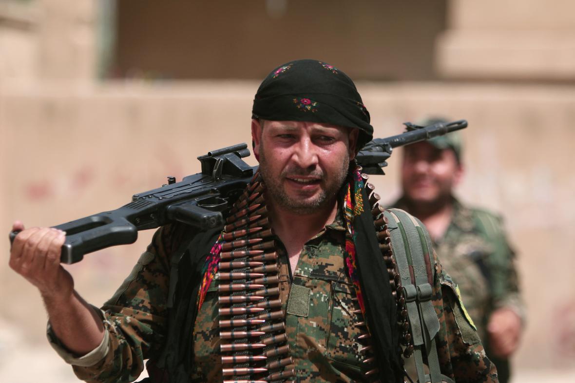 Kurdské milice YPG