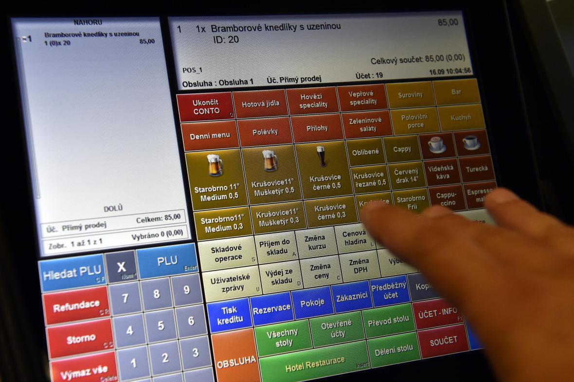 Elektronická evidence tržbeb