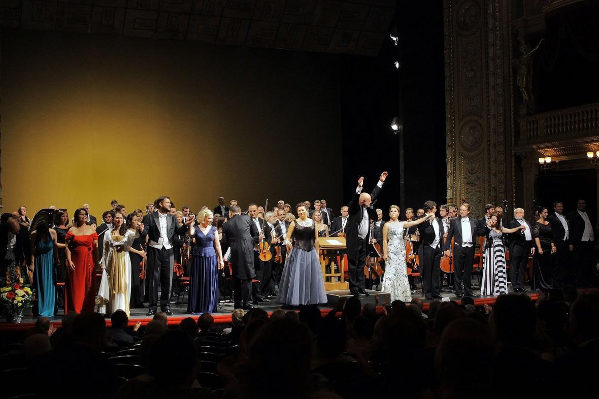 Koncert k zahájení operní sezóny v Národním divadle