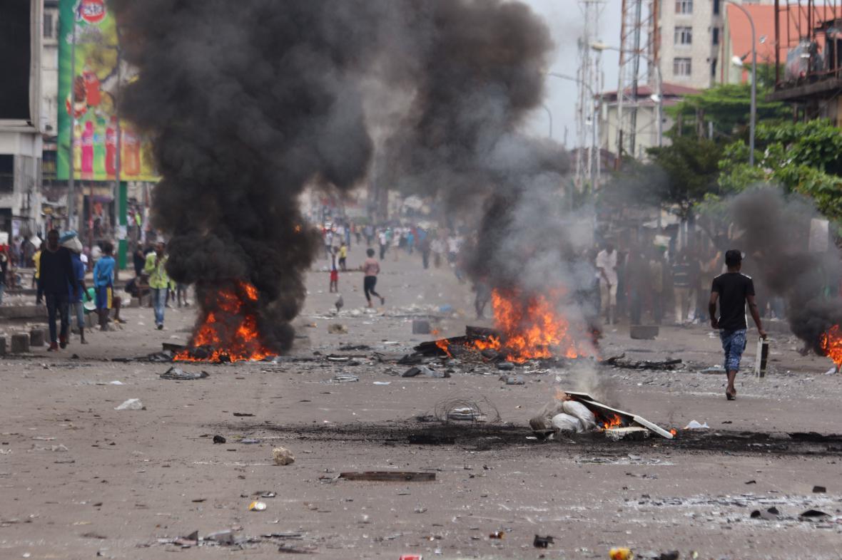 Protesty v Kongu