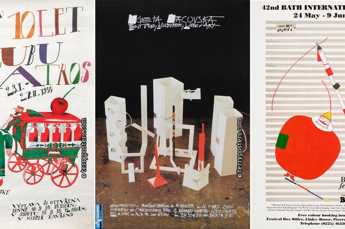 Plakáty Květy Pacovské
