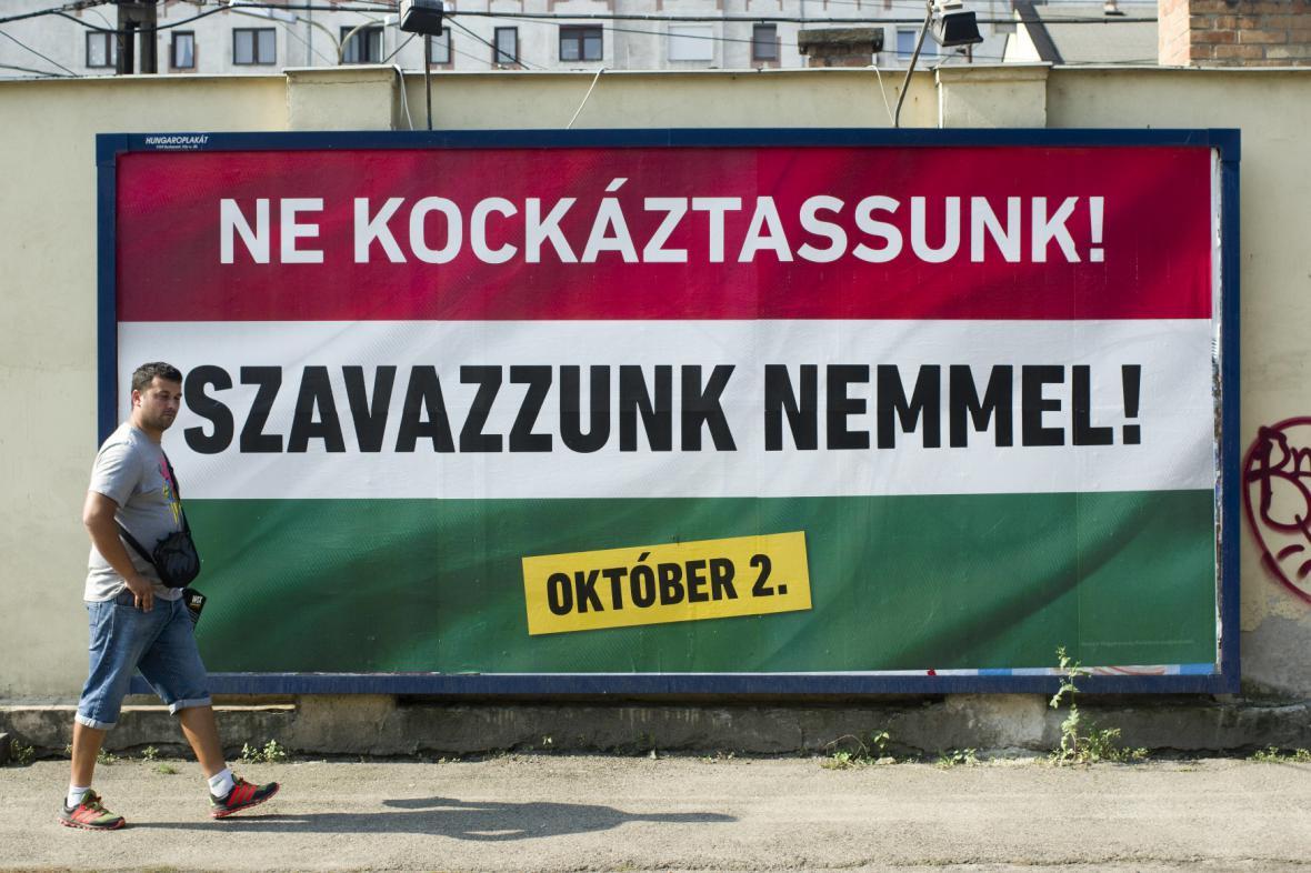 Kampaň před maďarským referendem