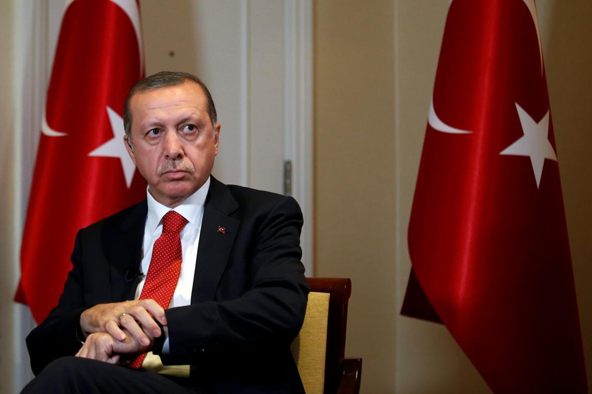 Turecký prezident Recep Tayyi Erdogan