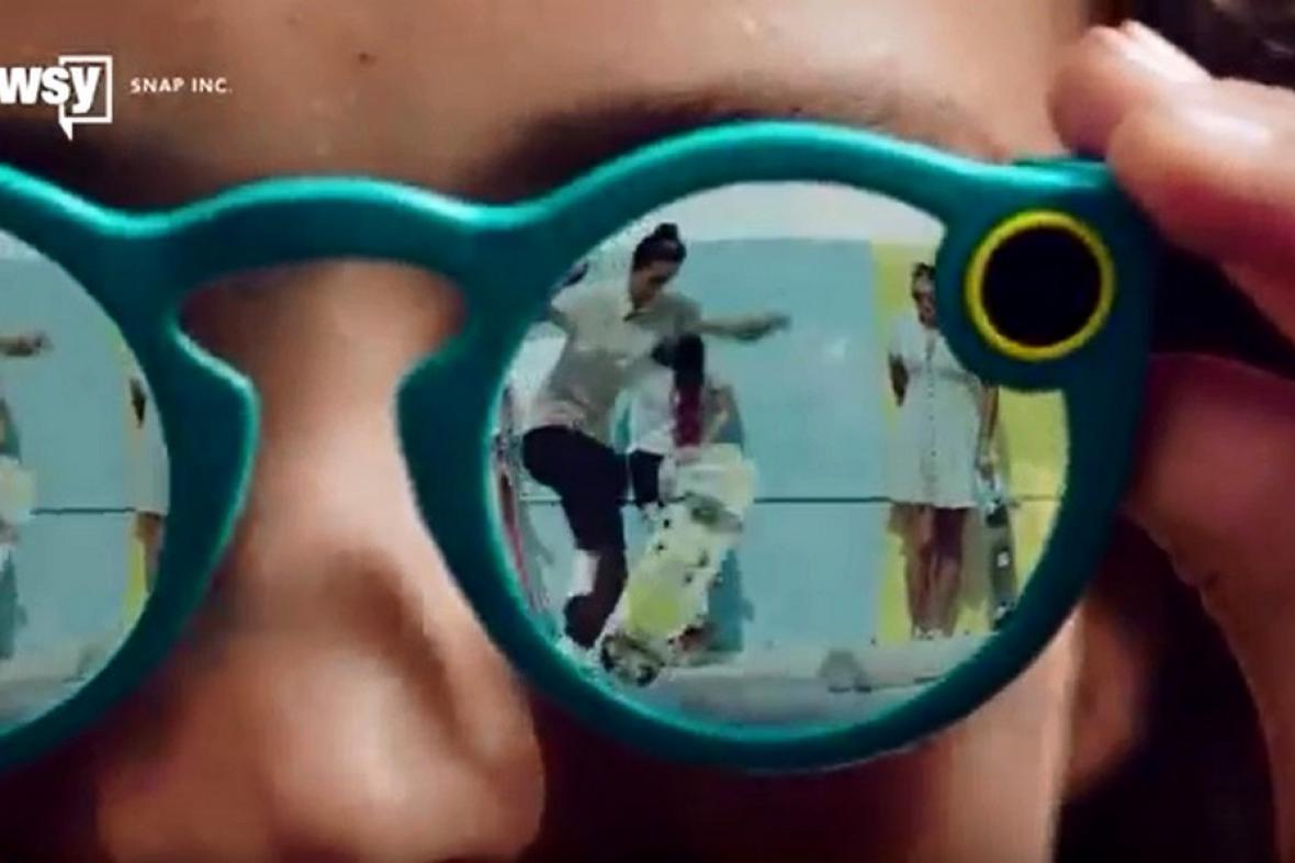 Brýle s kamerou od Snapchatu