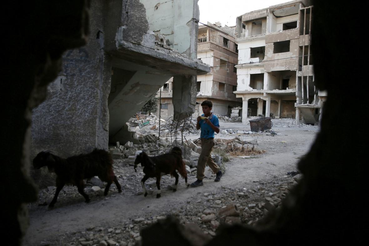 Život v obléhaném syrském městě