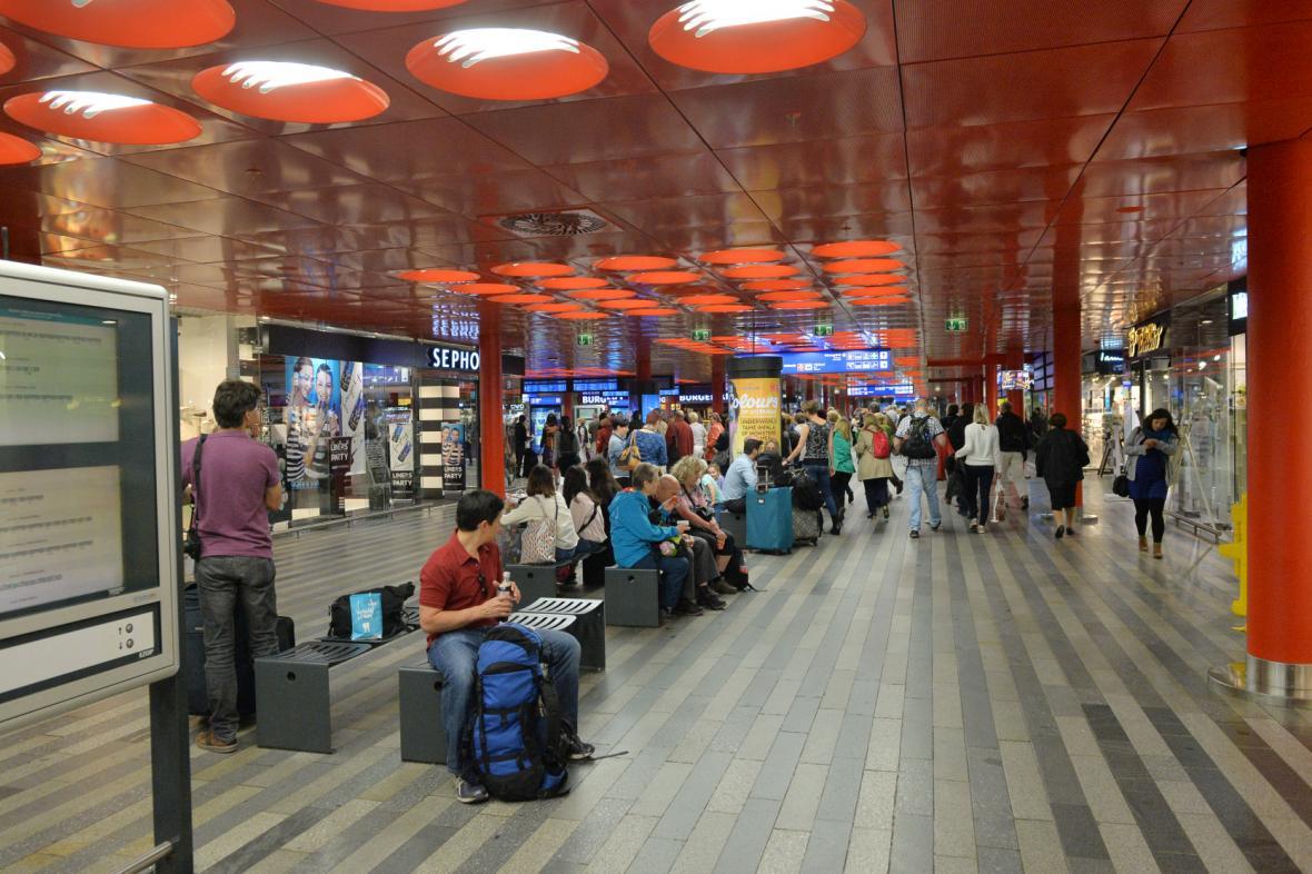 Praha, hlavní nádraží